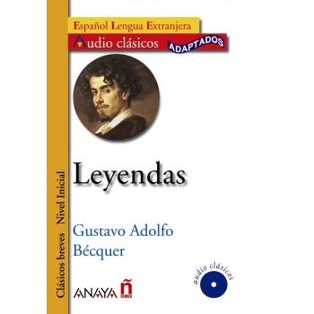 Leyendas A1-A2 + CD Audio...