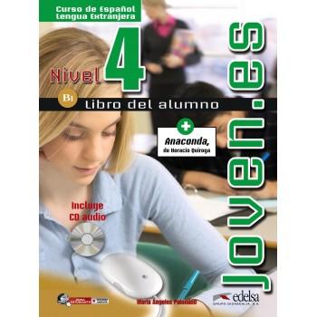 Joven.es 4 B1 Alumno + CD