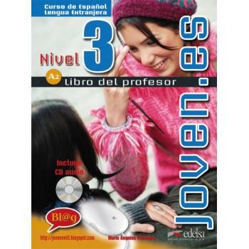 Joven.es 3 A2 Profesor + CD