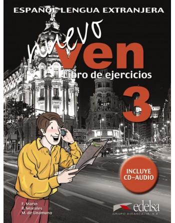 Nuevo VEN 3 Ejercicios + CD