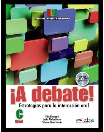 A debate! Alumno + CD...