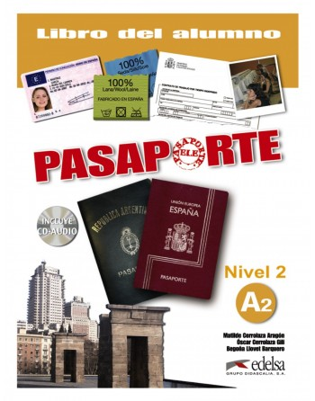 Pasaporte 2 A2 Alumno + CD