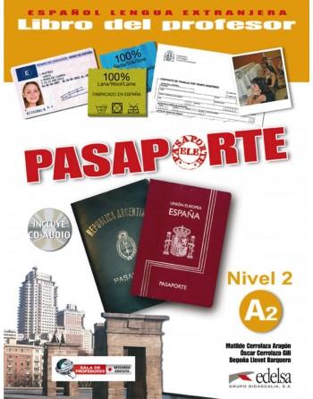 Pasaporte 2 A2 Profesor + CD
