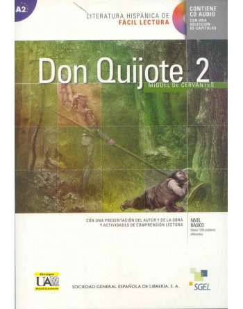 Don Quijote 2 A2 + CD...