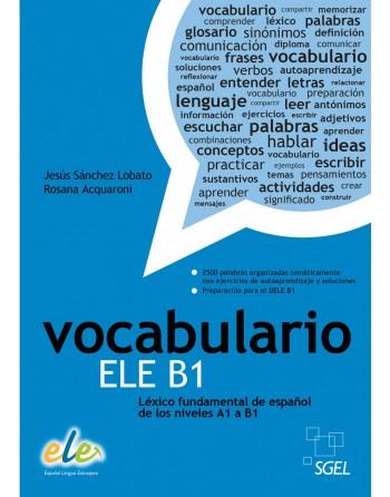 Vocabulario ELE B1 Léxico...