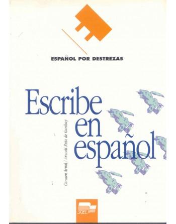 Escribe en español...