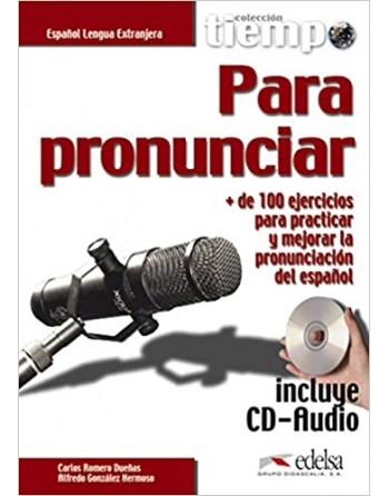 Tiempo para pronunciar + CD...