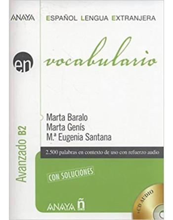 ELE en vocabulario B2 + CD...